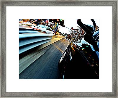 Toll Booth Framed Print by Erik Kaplan