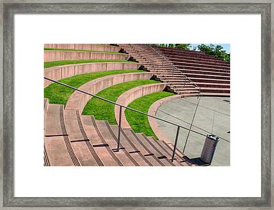 Tollefson Plaza Framed Print
