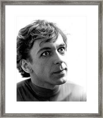 Toller Cranston Framed Print by Mike Flynn