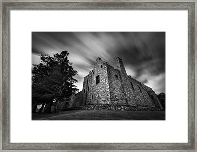 Tolquhon Castle Framed Print by Dave Bowman