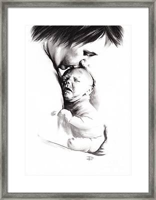 Your Mother Loved You Framed Print