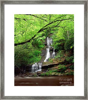 Tom Branch Falls 2009 Framed Print