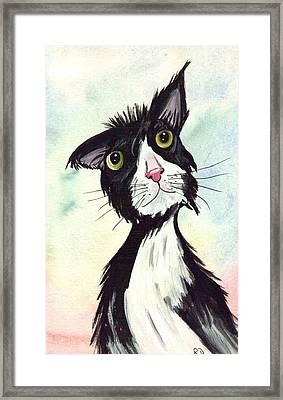 Tom Cat All Confident Framed Print
