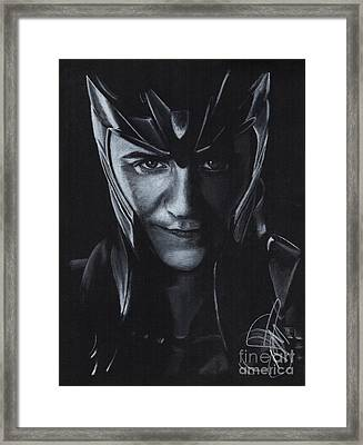 Tom Hiddleston Framed Print