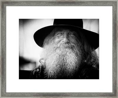 Tom Framed Print by Joan Herwig