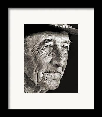 Julie Dant Portraits Framed Prints