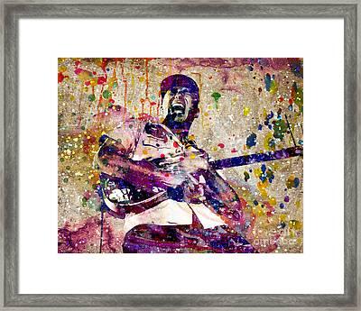 Tom Morello Original Framed Print