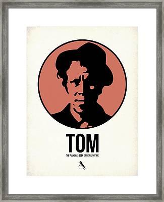 Tom Poster 1 Framed Print by Naxart Studio