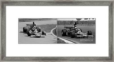 Tom Pryce Framed Print