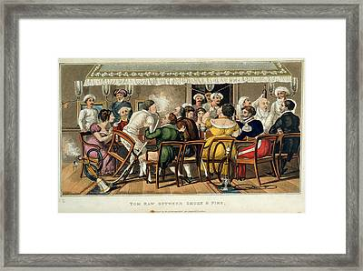 Tom Raw Between Smoke And Fire Framed Print by British Library