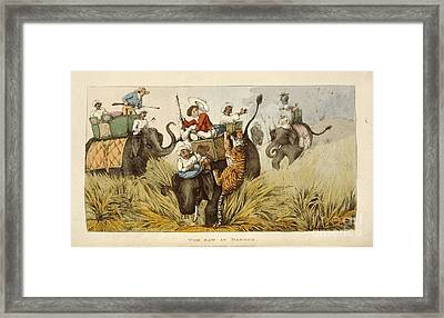 Tom Raw In Danger Framed Print by British Library