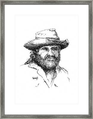 Tom Framed Print by Sam Sidders