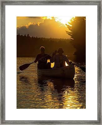 Tom Thomson Lake Framed Print