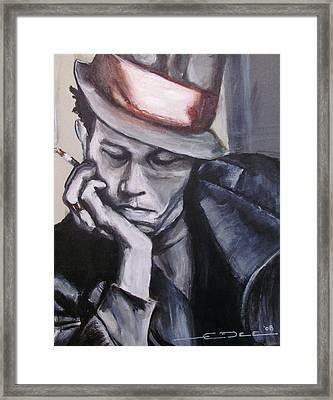 Tom Waits One Framed Print