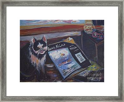 Tom Will Travel Framed Print by Avonelle Kelsey