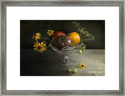 Tomato Cocktail Framed Print by Elena Nosyreva
