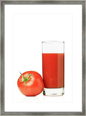 Tomato Juice Framed Print by Wladimir Bulgar
