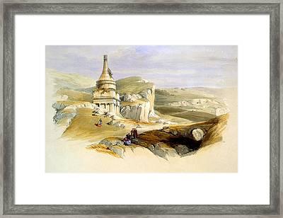 Tomb Of David Framed Print