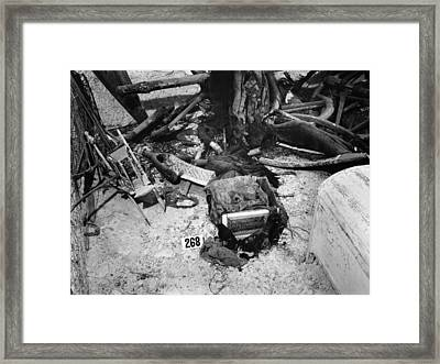 Tomb Of King Tutankhamen Framed Print by Granger