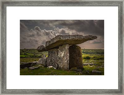 Tomb Of The Ancients Framed Print by Tim Bryan