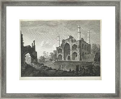Tomb Of The Emperor Akbar Framed Print by British Library