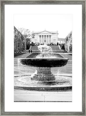 Tomb Of The Unknown Framed Print by Greg Fortier