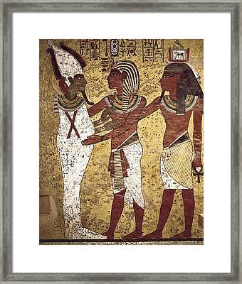 Tomb Of Tutankhamun. S.xiv Bc. The Framed Print by Everett