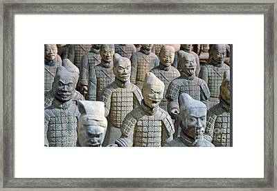 Tomb Warriors Framed Print