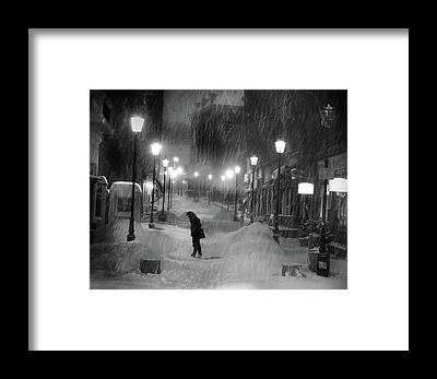 Cold Weather Framed Prints