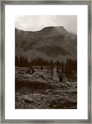 Tomboy Ghost Town I Framed Print by Daniel Woodrum