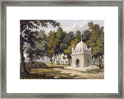 Tombs Near Etaya, From A Picturesque Framed Print by Charles Ramus Forrest