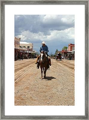 Tombstone Arizona Territory Framed Print