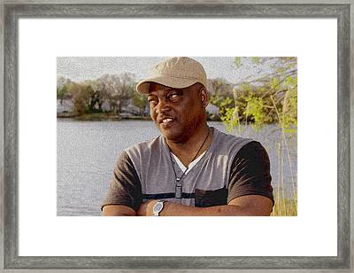 Tomije Framed Print by Kehinde Thompson
