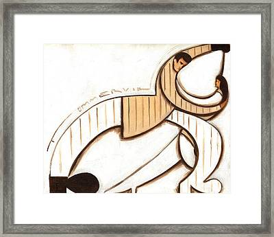 Tommervik Art Deco Dancers Art Print Framed Print