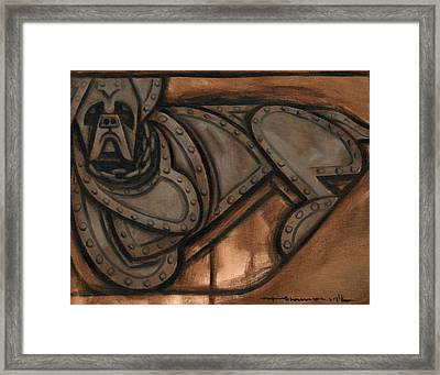 Best Guard Dog In The World Art Print Framed Print by Tommervik