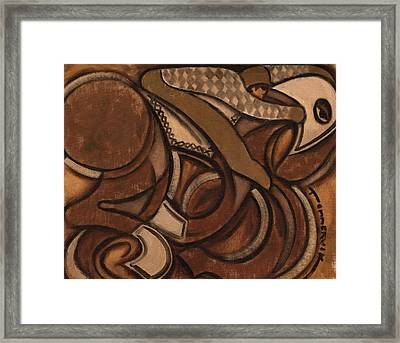 Tommervik Abstract Racehorse Art Print Framed Print
