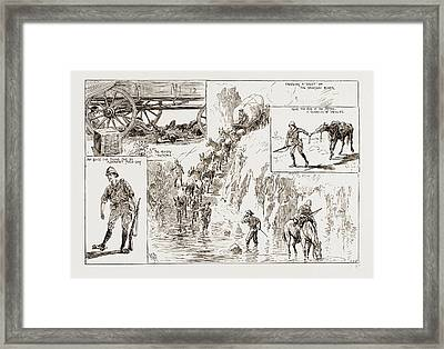 Tommy Atkins In Rhodesia Leaves From An Officers Sketch Book Framed Print