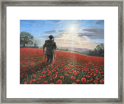 Tommy Framed Print by Richard Harpum