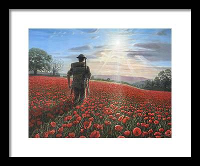 Soldier Field Framed Prints