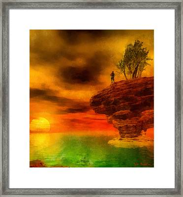 Tomorrow Is A New Day Framed Print