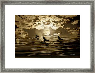 Tomorrow Is Another Day Framed Print by Angela A Stanton