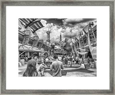 Framed Print featuring the photograph Tomorrowland by Howard Salmon