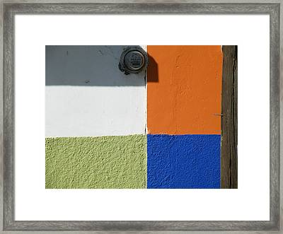 Framed Print featuring the photograph Tonal Junction by Brian Boyle