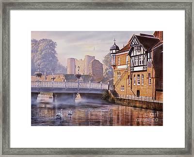 Tonbridge Castle Framed Print