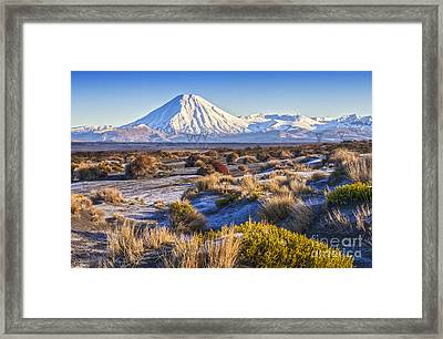 Tongariro National Park New Zealand Framed Print by Colin and Linda McKie