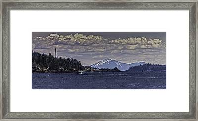 Tongass Narrows 012 Framed Print