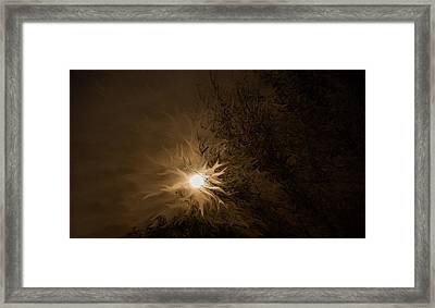 Tonight's Moon Framed Print