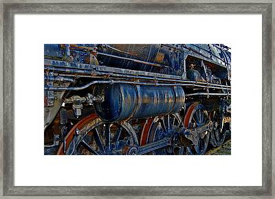 Tonnage Framed Print by Skip Willits