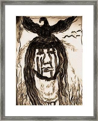 Tonto Framed Print by Beto Machado
