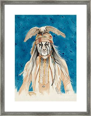 Tonto Framed Print by Tish Wynne